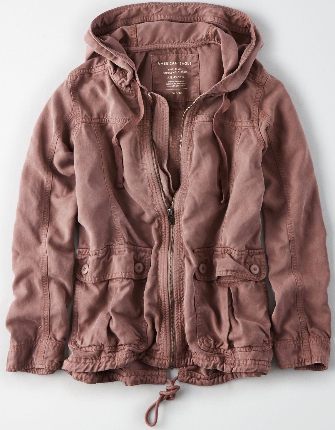 3a2176ba AE Classic Denim Jacket in 2019 | Clothes 2018 | Hooded parka, Denim ...
