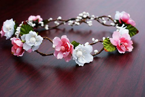 How To Make A Flower Crown Diy Hair Accessories Floral