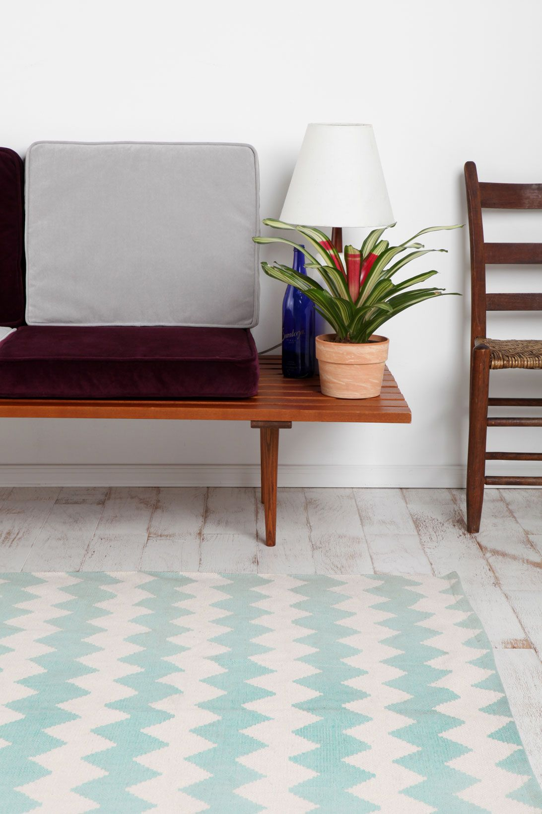 Mint Zig Zag Rug At Urban Outers I Love This Would Be Perfect For Our Sitting Room