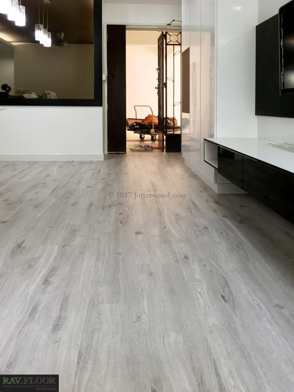 Brand-new White ash vinyl flooring. Jotterwood Vinyl Flooring Singapore  OO38
