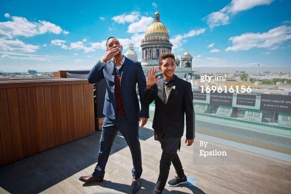 St Petersburg May 28 We Are Excited To See Jaden Smith Son Of