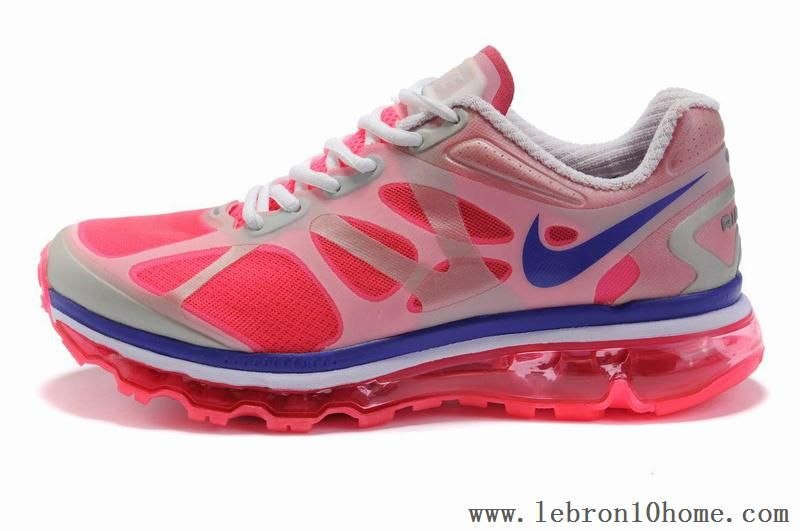 official photos 2d274 344ec ... Nike Air Max 2012 (GS) Blanc Rouge 487982 003 Femmes Chaussures tennis  Pinterest Air ...