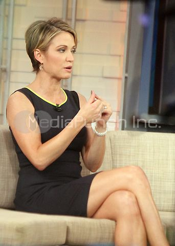 Amy Robach Media Punch Amy Robach Short Sassy Hair Glamorous Hair
