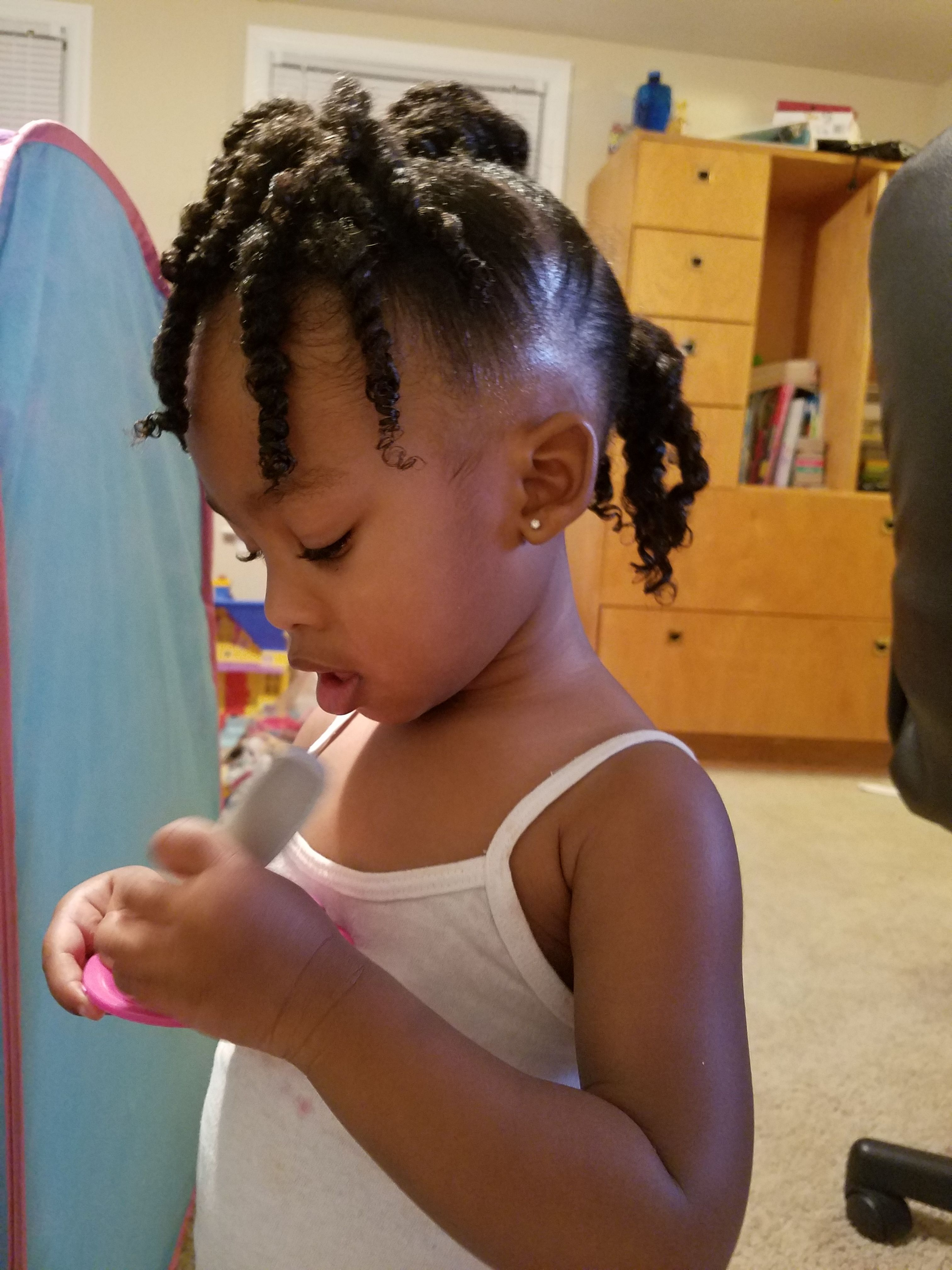 African American Black Toddler Girl Hairstyles Braids Natural Hair