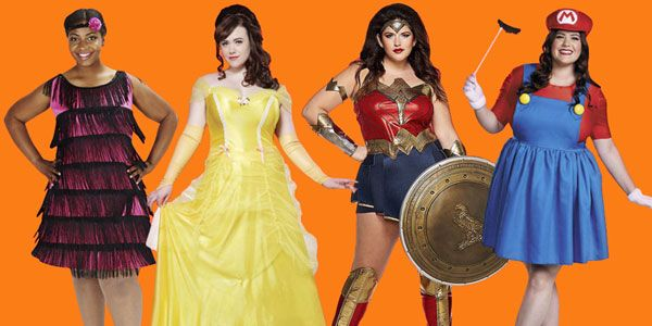 Evergreen and Coolest Halloween costume Ideas for Plus Size Women - awesome halloween costume ideas