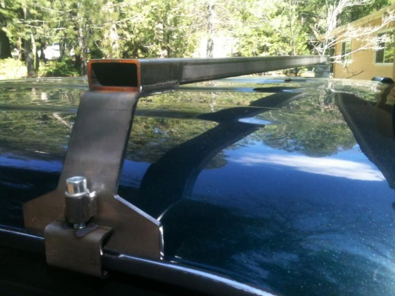 Trailer Roof Rack Ideas Started A Roof Rack Build Roof Rack