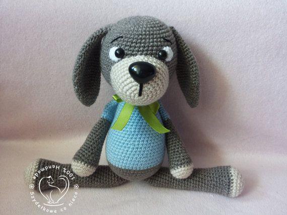 Lucky The Dog crochet pattern Amigurumi toy | Häkeln | Pinterest ...