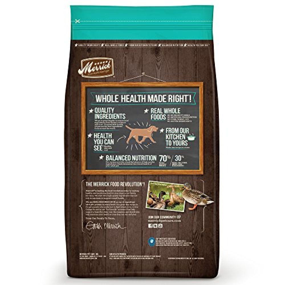 Merrick Grain Free Real Duck & Sweet Potato Dry Dog Food ...