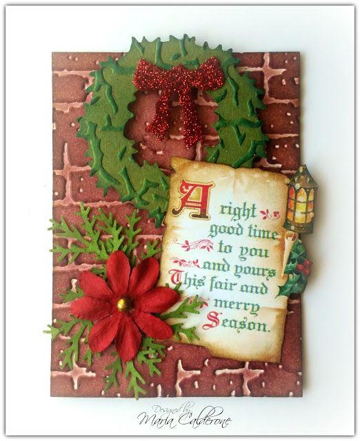 "Christmas ""Merry Season"" ATC (With Images)"
