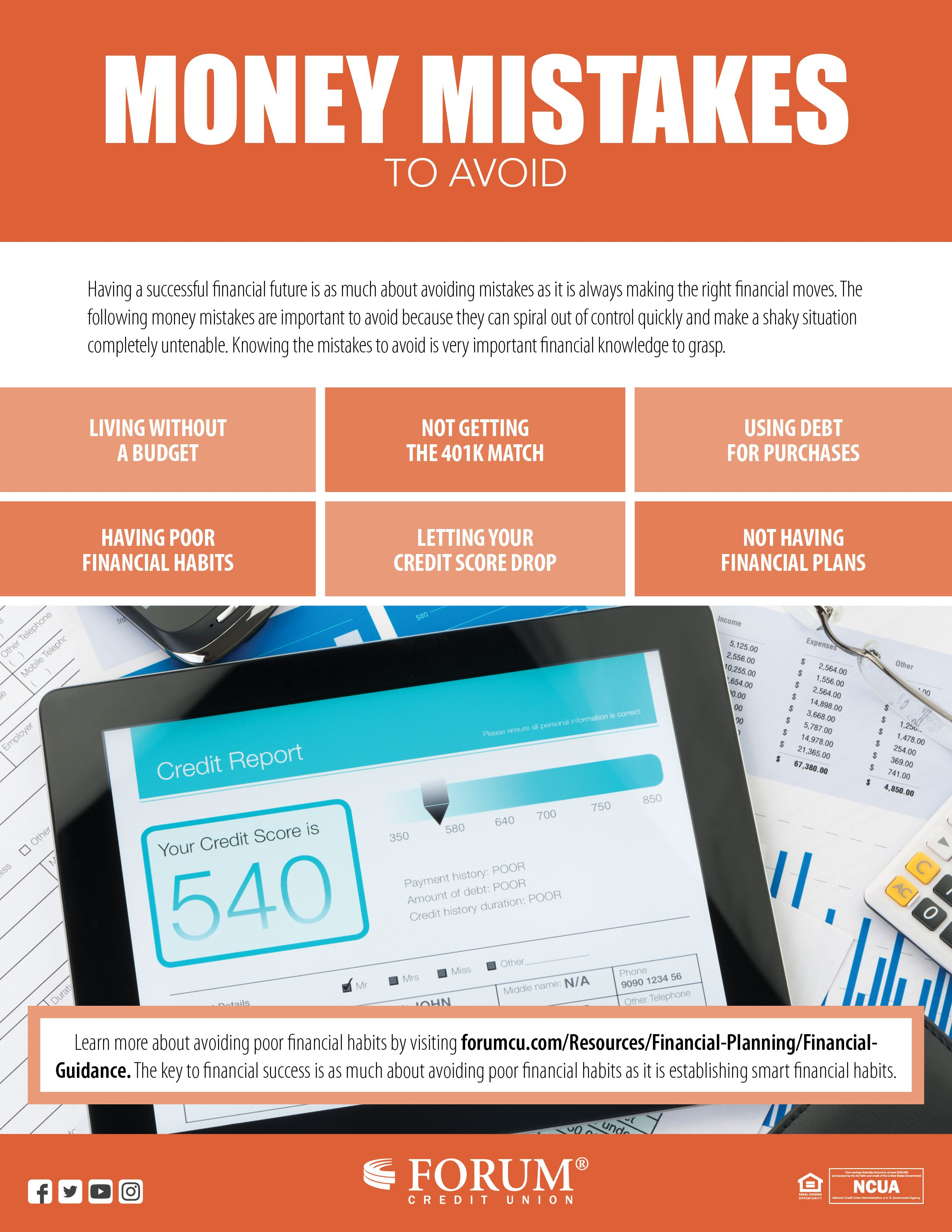 Pin by FORUM Credit Union on Tips & Advice Financial