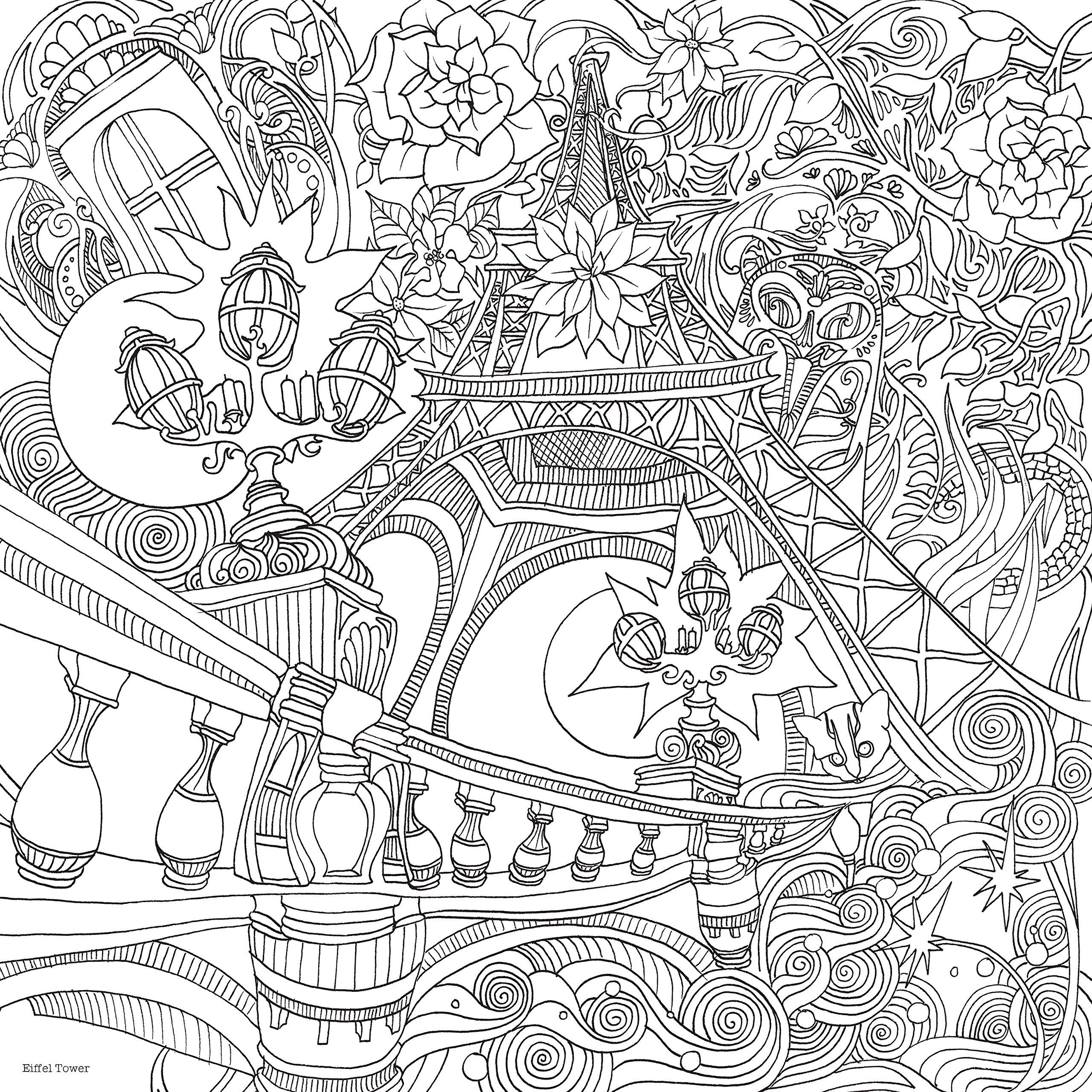 Th the magical city colouring in book - The magical city a colouring book lizzie mary cullen 9781405924092 amazonsmile
