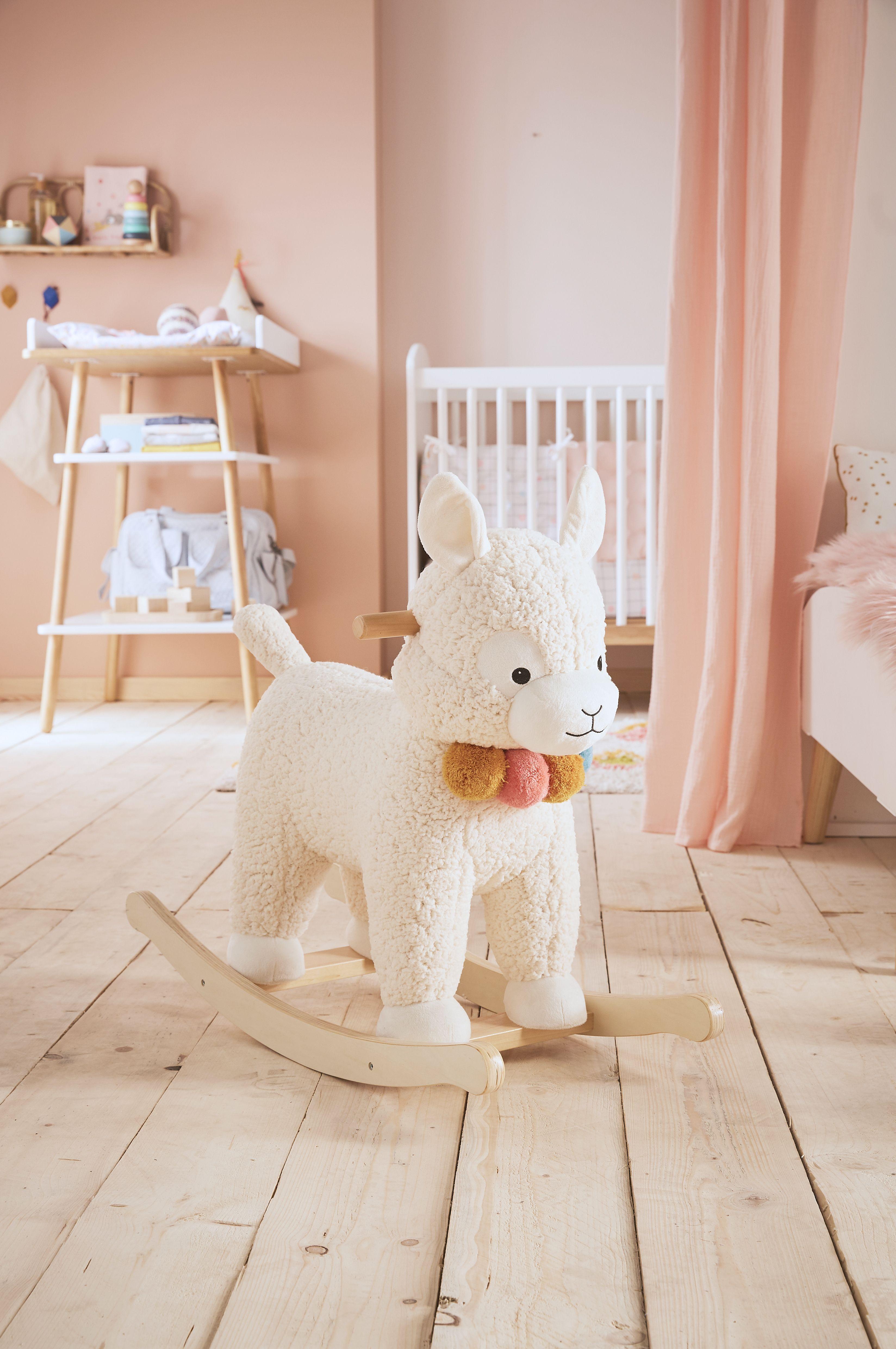 Voici Un Adorable Lama A Bascule Que Votre Enfant Adorera