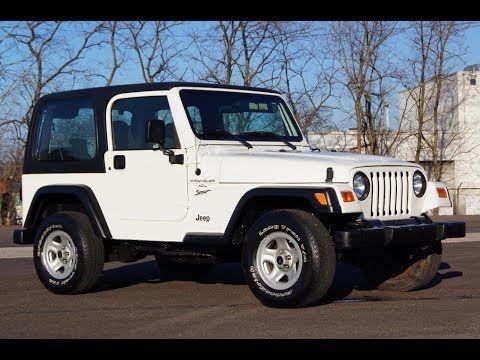 2000 Jeep Wrangler Sport 4 0l I6 Hard Top 4x4 2000 Jeep Wrangler Used Jeep Wrangler Jeep Wrangler