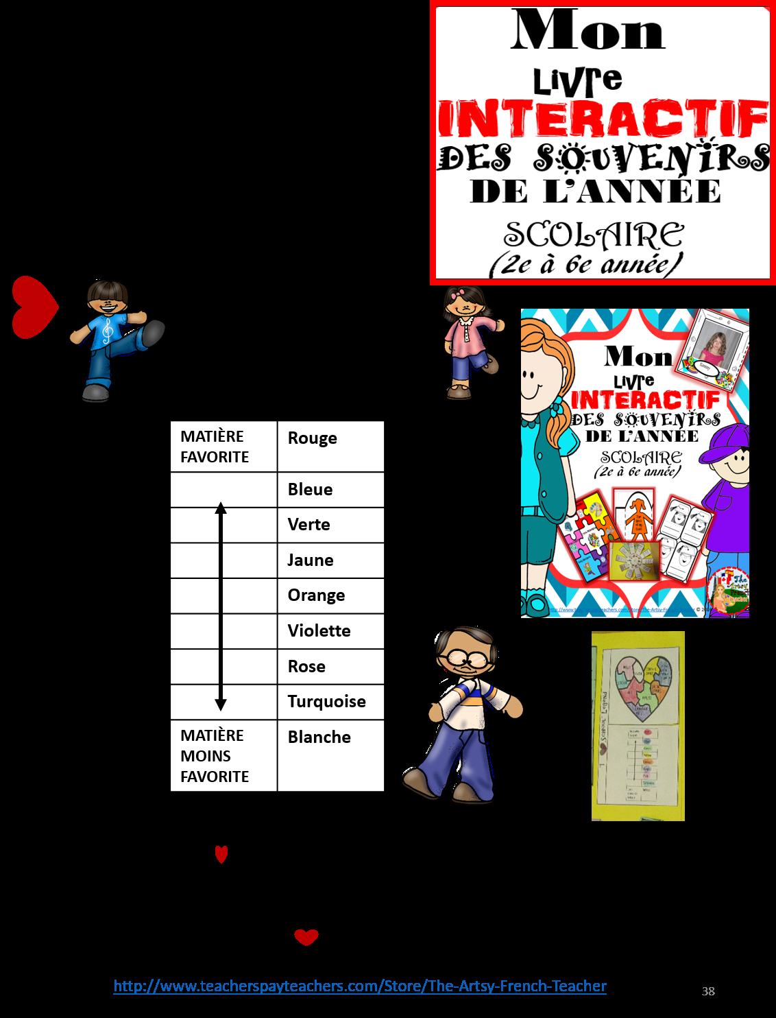 mon livre interactif des souvenirs de l u0026 39 ann u00c9e scolaire  25  d u00e9pliants   gr 2