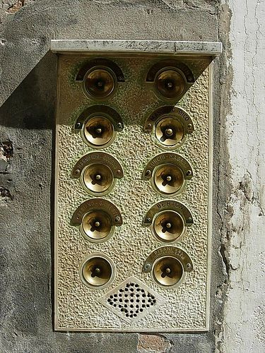 Door buzzers by misiek_beauch& & Door buzzers by misiek_beauchamp | / DING DANG DONG \ | Pinterest ...