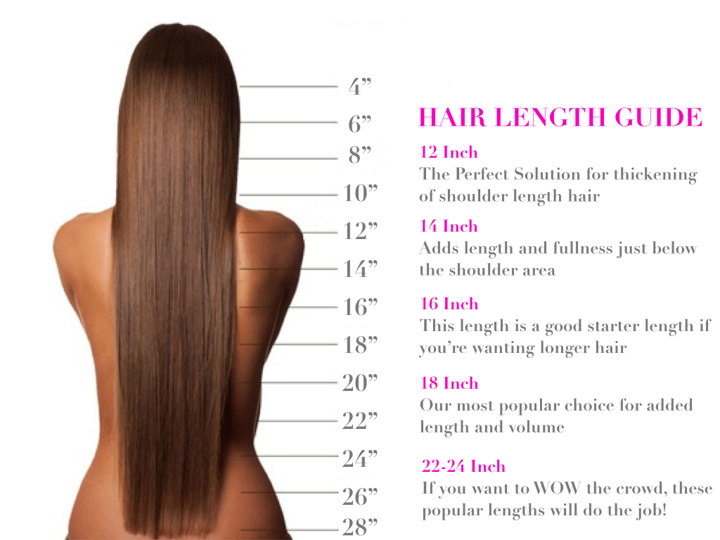 8a Indian Virgin Vegan Remy Weft Hair Length Chart Hair Extension Lengths 16 Inch Hair Extensions