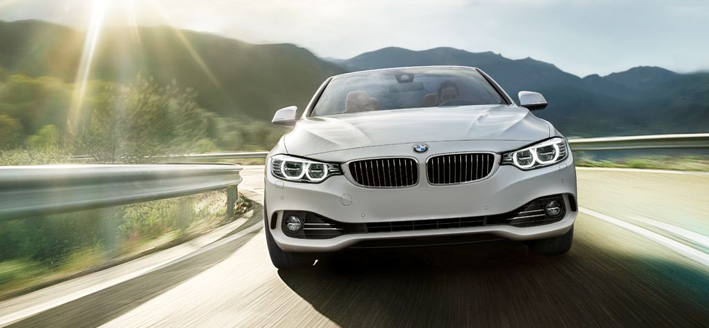Bmw 4 Series Convertible In Mineral White Metallic