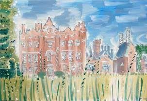 The Elizabethan House, Yoxford, Alan Halliday