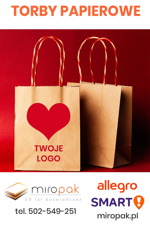 Torby Papierowe Pod Zamowienie Miropak Wlasny Nadruk Z Logo Paper Shopping Bag Paper Shopping Bag