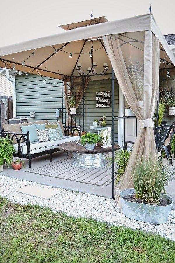 Budget Loving Porch Ideas Patio Makeover Budget Patio Backyard