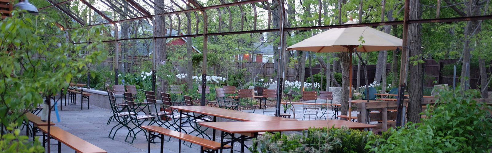 Michler\'s Kentucky Native Cafe, Lexington, KY | Beer garden ...