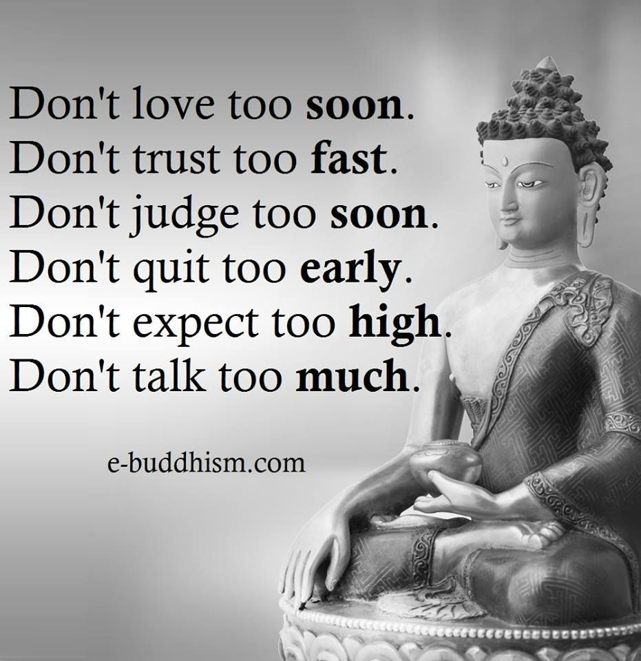 Dont Be Or Do Much At Allbe Oppressed Nyahaha Buddha