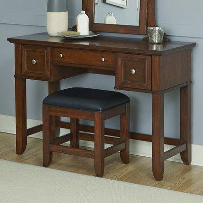 Home Styles Chesapeake Vanity with Bench Set