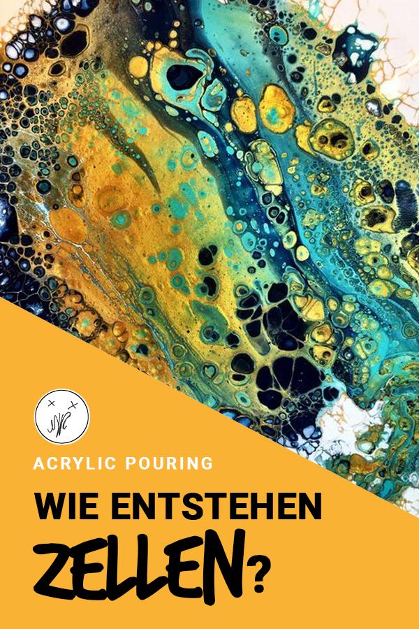 Acrylic Pouring: Der Killer-Trick für garantierte Zellen! – MR Blog – Inspiration for aspiring Creators
