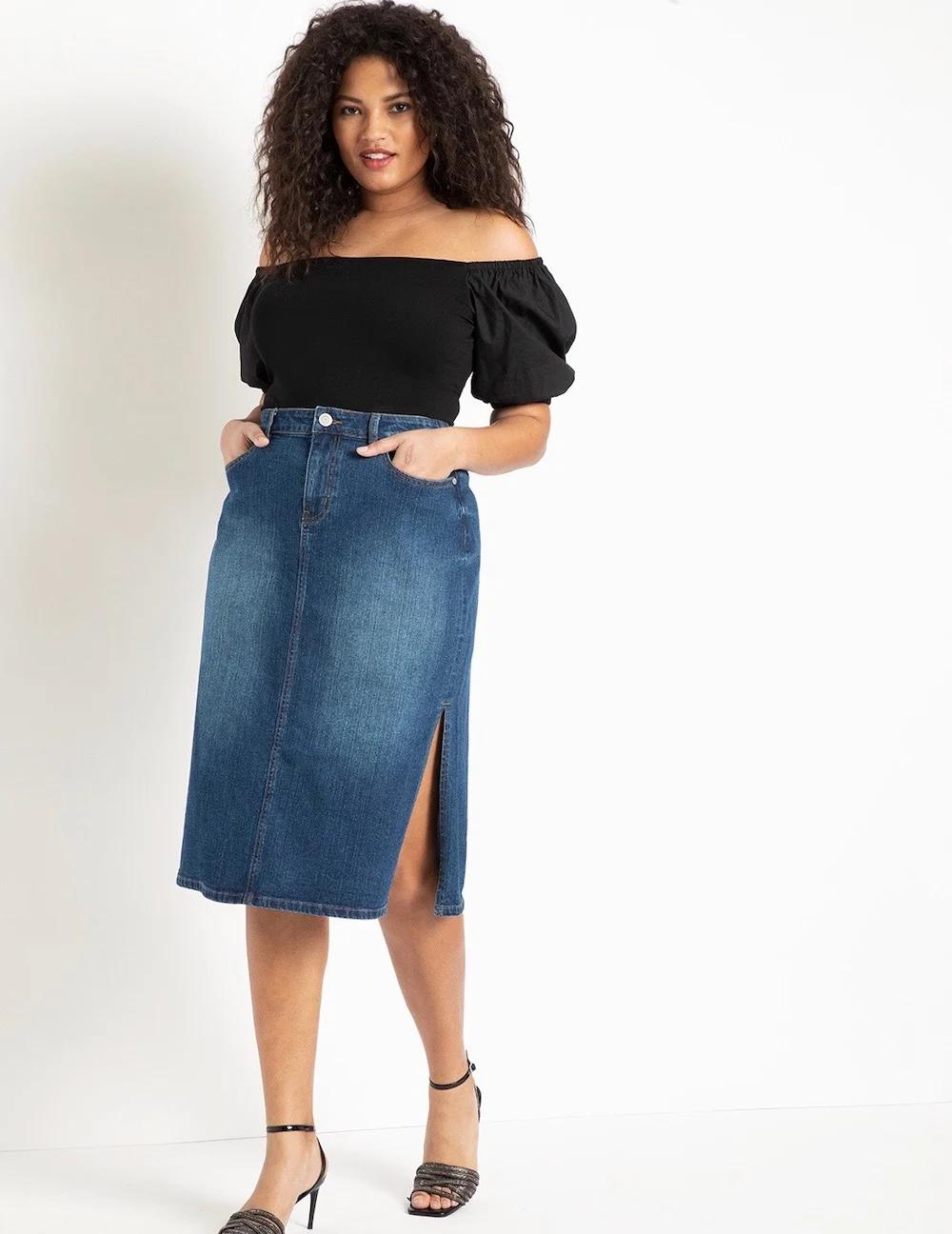 Womens Button Front Wide Leg Culotte Jumpsuit - Black - 4