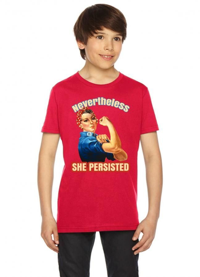 nevertheless she persisted Youth Tee