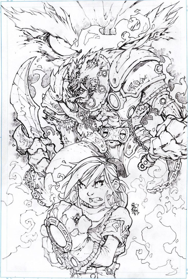 battle chasers artist - Google Search
