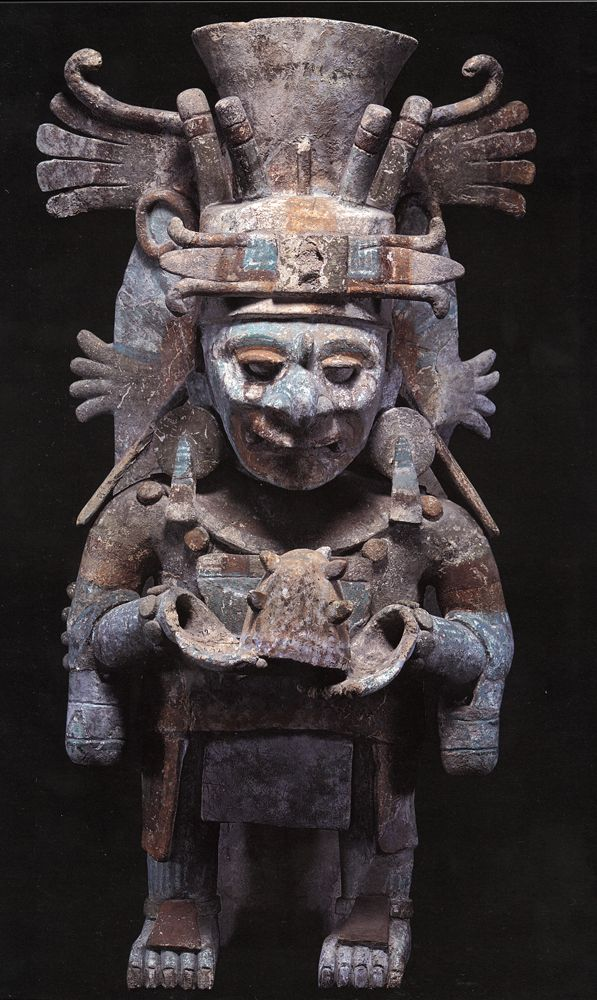 Maya Censers | Aztec art, Maya art, Ancient mexico