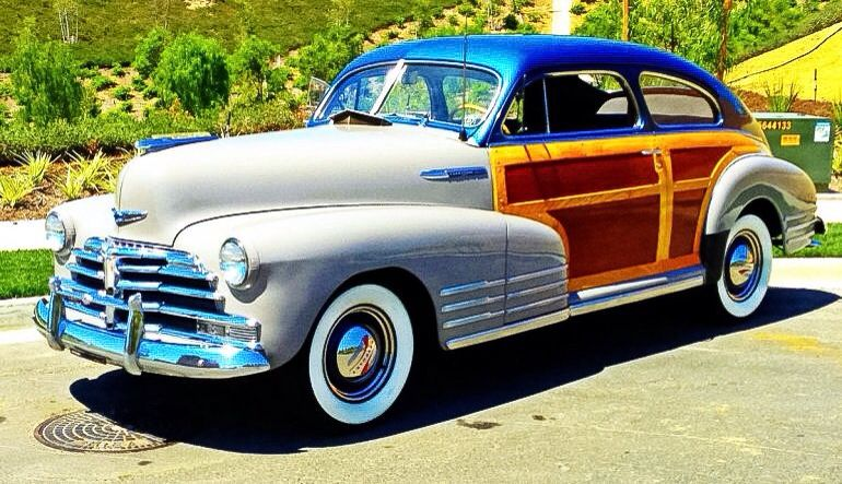 1948 Chevrolet Fleetline Country Club Woody Aerosedan
