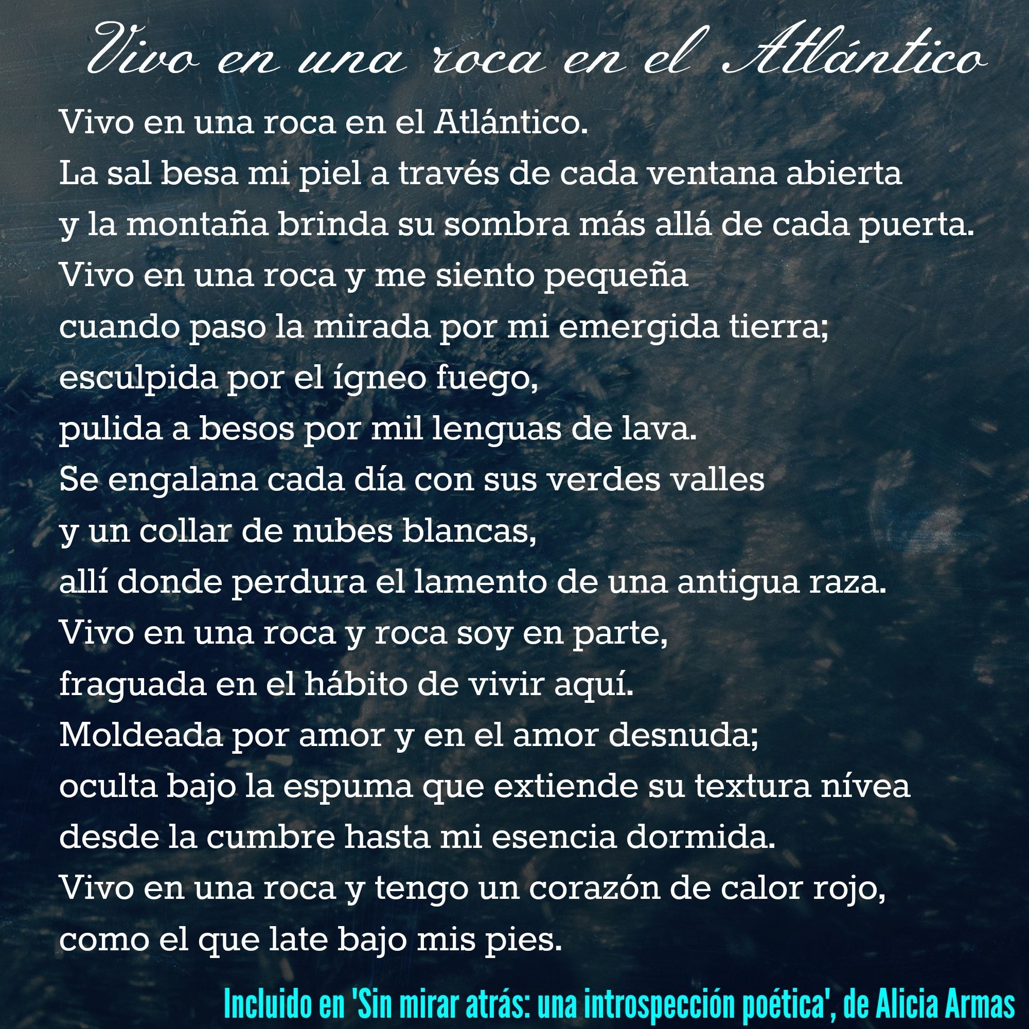 Escribiendo Otra Vez Poesía Poema Vivoenunaroca