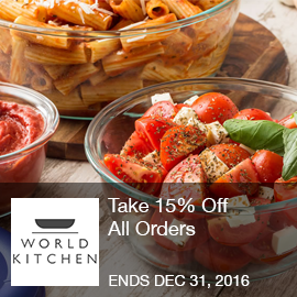 World Kitchen   Take 15% Off All Orders With Code At ShopWorldKitchen.com!
