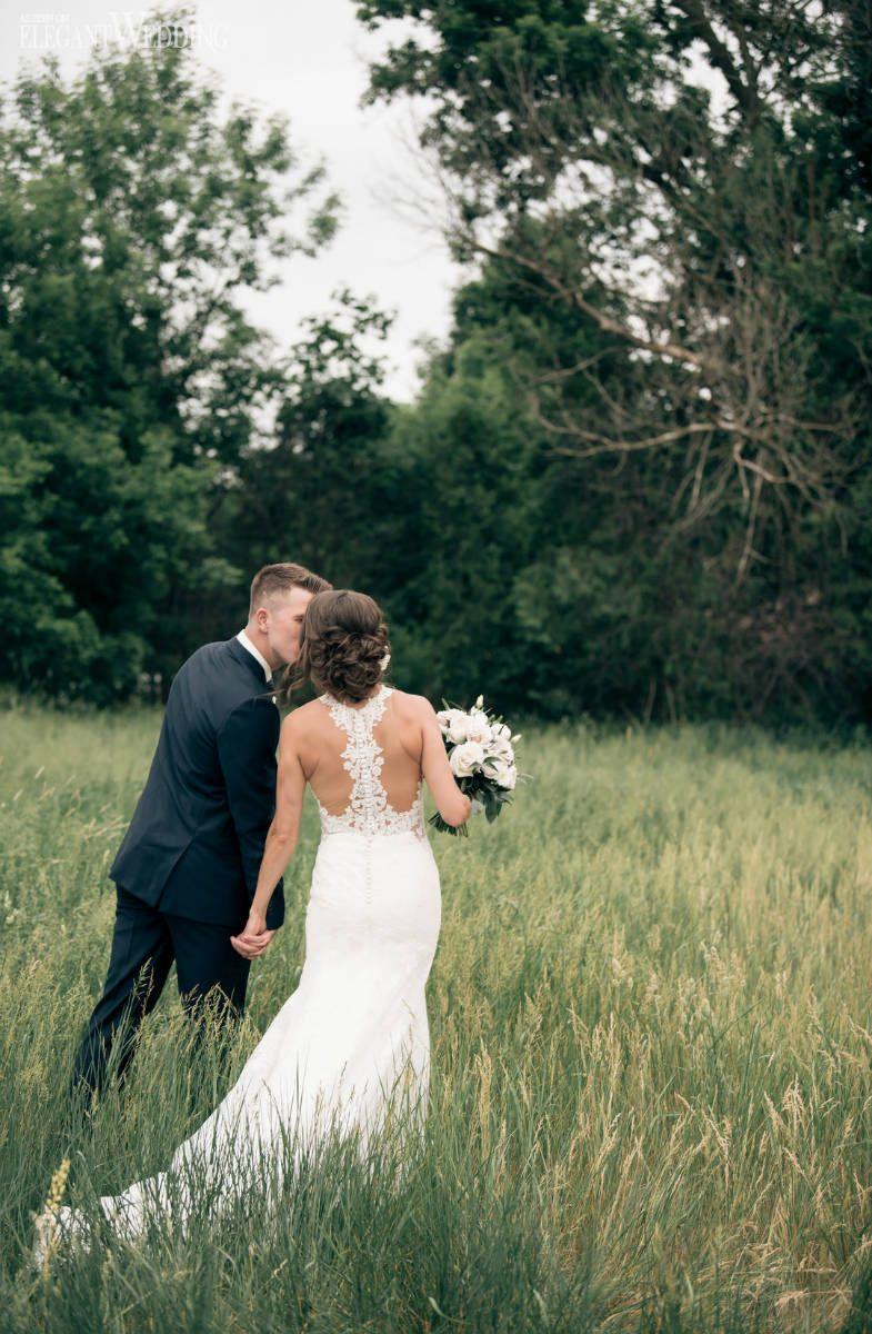 Classic Country Club Wedding With Blush Wedding