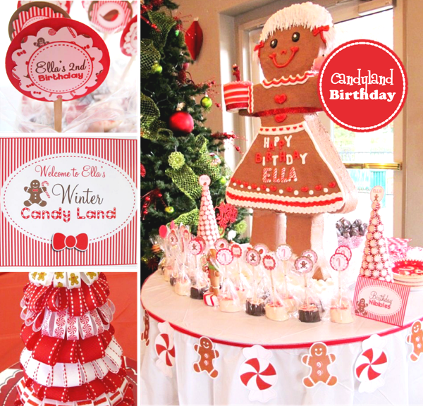 Christmas Candyland Party Ideas Desserts Table Party Ideas
