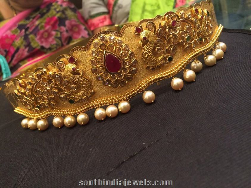 25b6e3b10e653 22k Gold Waist belt latest model with weight | Hip Chain Collections ...