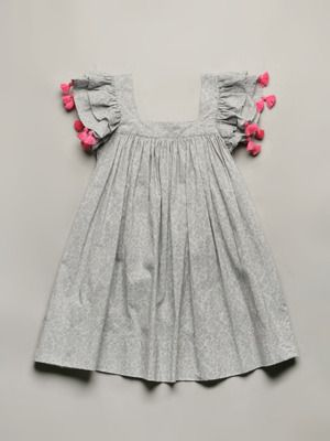 17bc9c2d3 Nellystella Chloe Dress - Love the pom poms | kids | Kids outfits ...