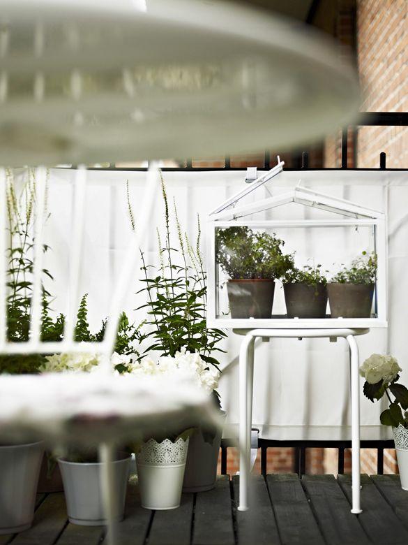 Hoy Me Gusta Ikea En El Jardín Y En La Terraza En Blanco Y