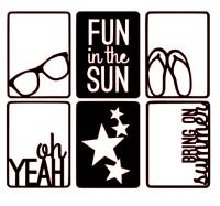 Cartes Fun in the Sun