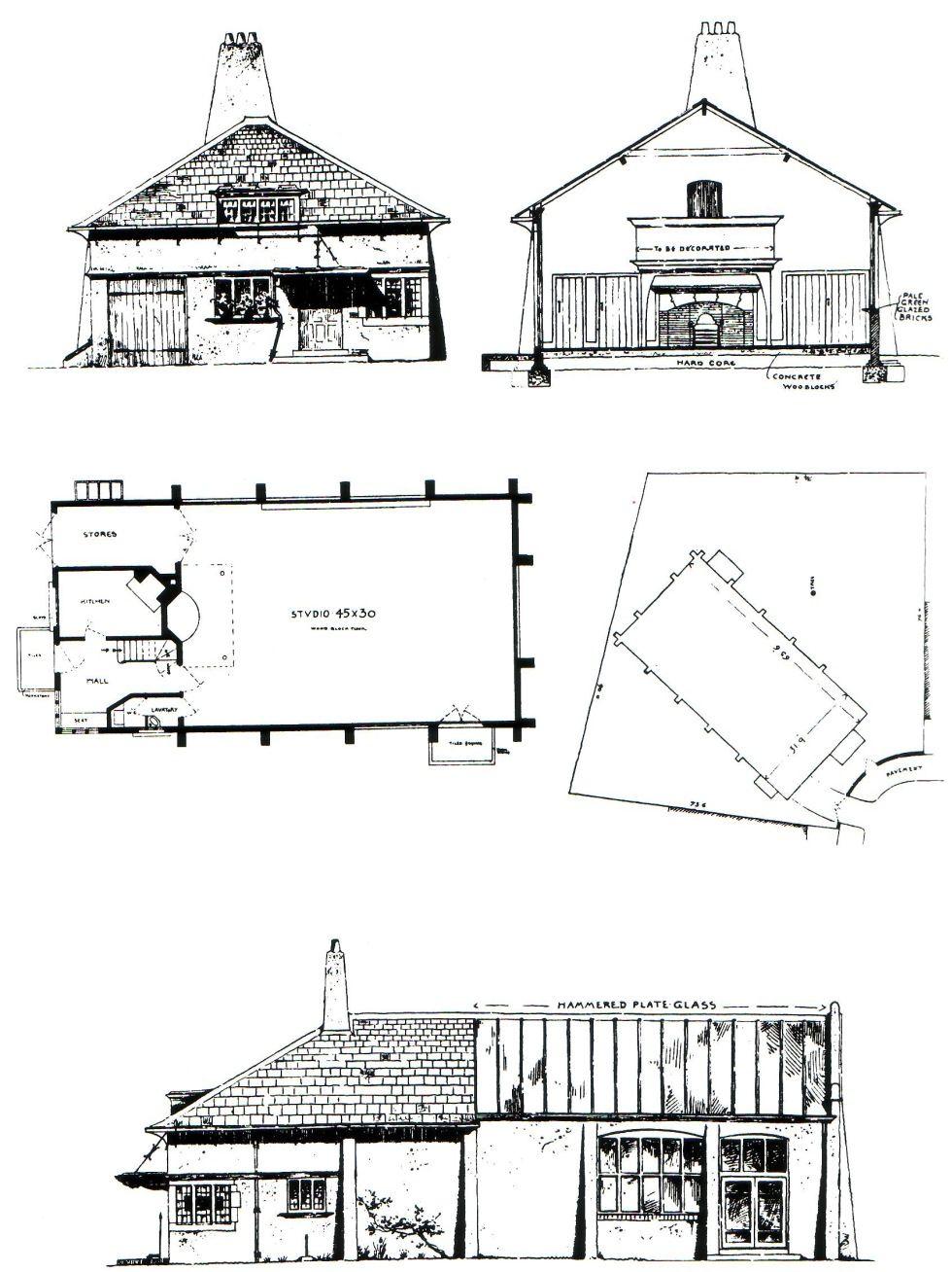 voysey studio great books reference pinterest architecture