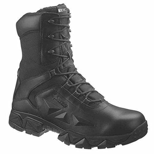 Bates Womens Black Boots Delta Nitro 8 Zip