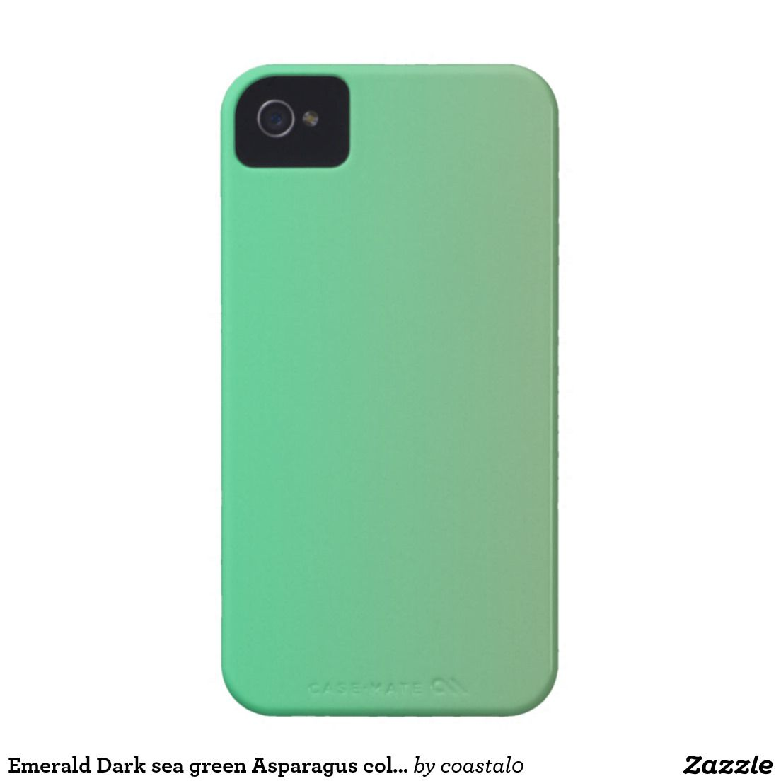 Emerald Dark Sea Green Asparagus Color