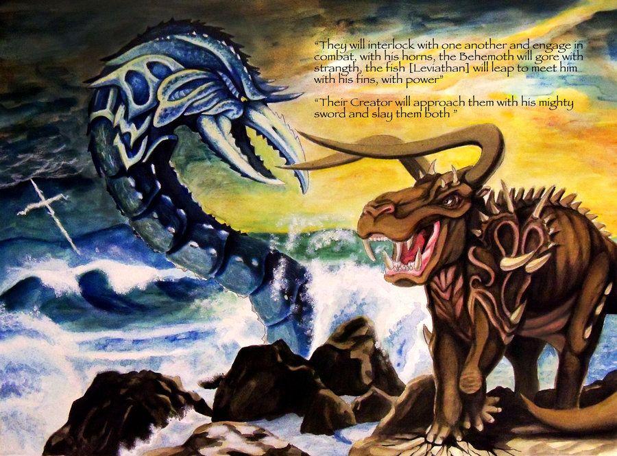 100+ Job Leviathan Behemoth – yasminroohi