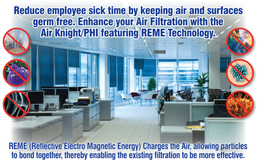 Making Your Air Healthy and Clean / Clean office, Office