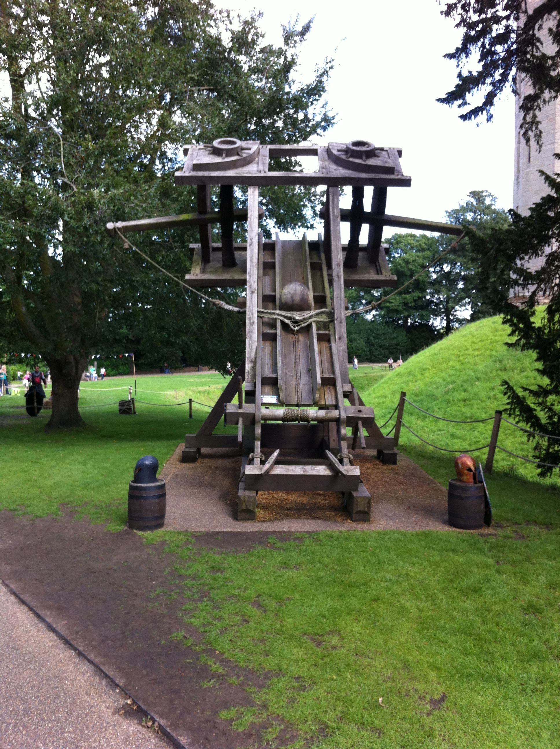 The Ballista Is An Excellent Example Of Projectile Motion