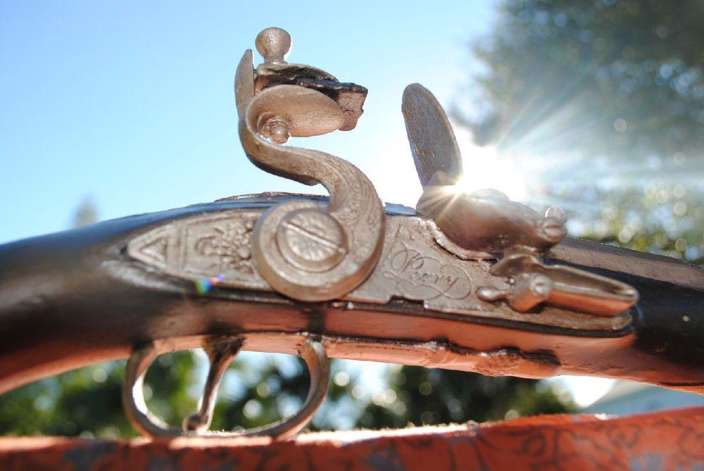 Jack sparrow flintlock prop replica handmade master