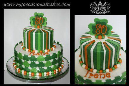 Miraculous Irish Birthday Cakes Google Search Irish Birthday Cake Cake Personalised Birthday Cards Veneteletsinfo