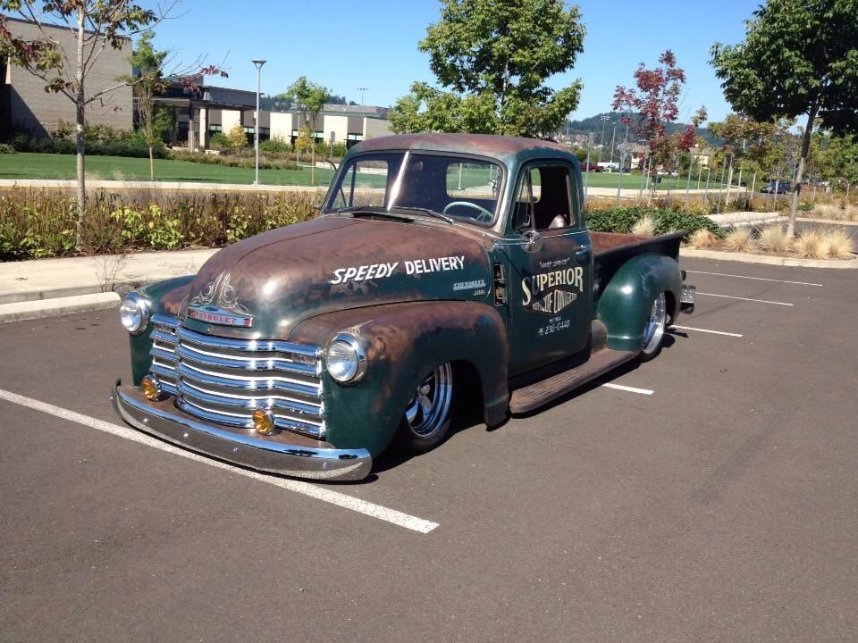 Bagged old school chevy truck | Trucks | Pinterest | Rats, Chevy ...